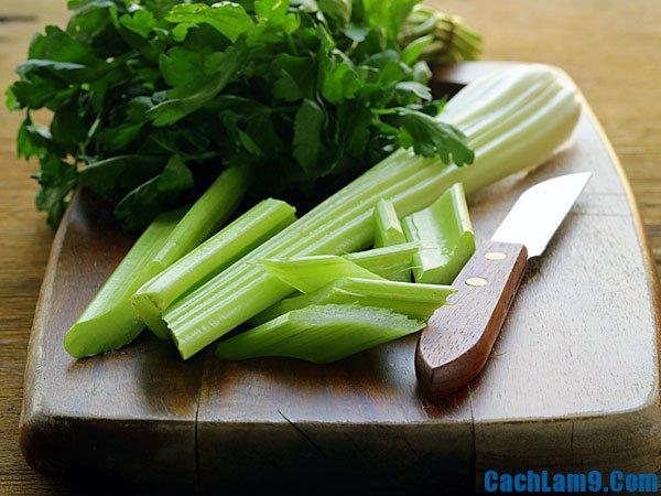 Hướng dẫn giảm mỡ bụng bằng cần tây, các cách giảm mỡ bụng bằng cần tây