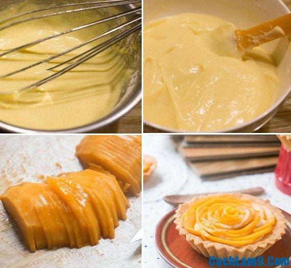 Hướng dẫn làm bánh tart xoài, làm bánh tart xoài tại nhà như thế nào?
