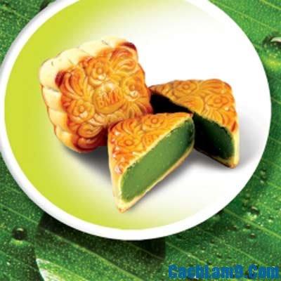 Cách làm bánh trung thu lá dứa đơn giản, thơm ngon