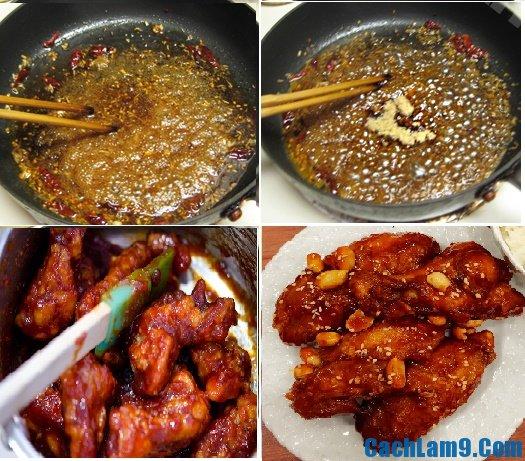 Hướng dẫn cách chế biến gà rán KFC sốt cay kiểu Hàn, bí quyết nấu món gà rán KFC sốt cay Hàn Quốc siêu ngon tại nhà