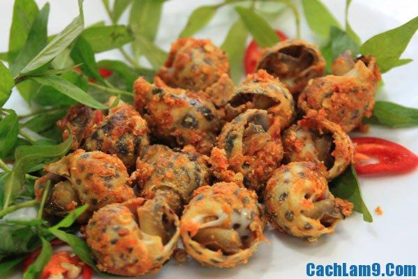 Hướng dẫn cách làm ốc rang muối ớt, bí quyết và công thức làm món ốc rang muối ớt ngon như ngoài hàng