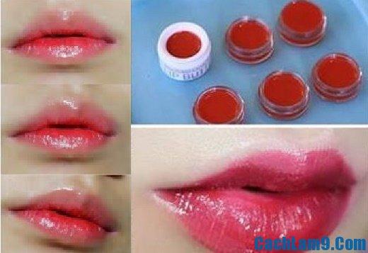 Cách làm son môi từ củ dền, mẹo và bí quyết tự làm son môi bằng củ dền tại nhà