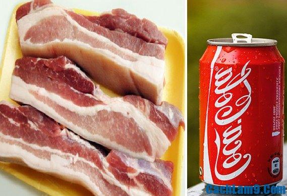 Nguyên liệu làm thịt kho coca, nấu thịt kho coca như thế nào?