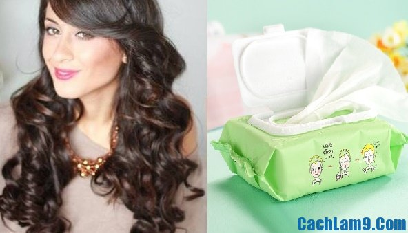 Cách làm tóc xoăn bằng giấy ướt, hướng dẫn tự làm tóc xoăn với giấy ướt