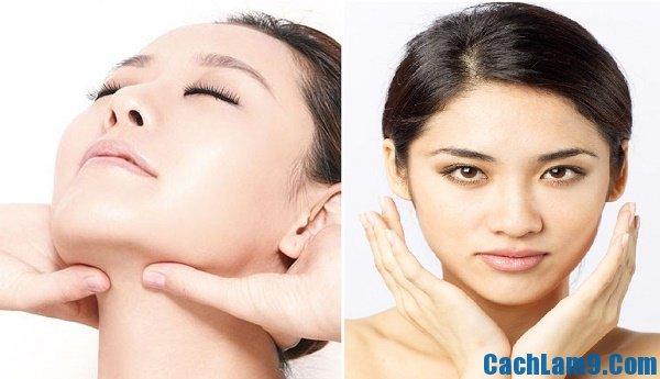 Cách massage mặt giúp tạo khuôn mặt V-line đơn giản, mẹo massage mặt để khuôn mặt trở thành V-line hiệu quả nhanh, đơn giản nhất