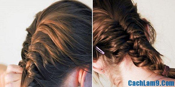Hướng dẫn cách tết tóc đuôi cá dễ, chi tiết nhất