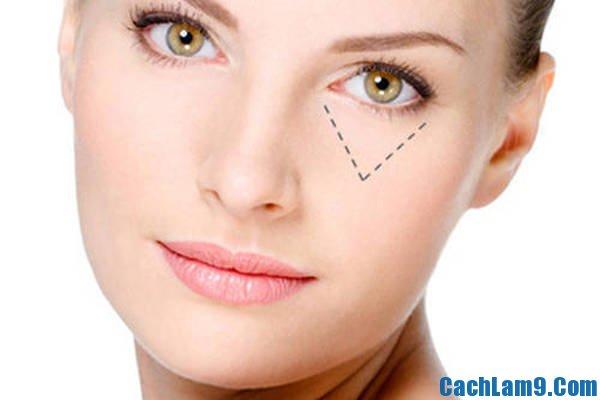 Cách trang điểm che quầng thâm mắt, trang điểm quầng thâm dưới mắt như thế nào?