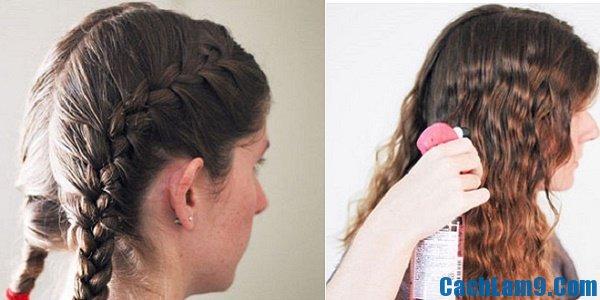 Cách uốn tóc tại nhà siêu đẹp và cực đơn giản