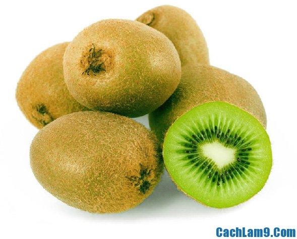 Chuẩn bị nguyên vật liệu pha chế sinh tố kiwi nho xanh, chuan bi nguyen lieu pha che sinh to kiwi nho xanh