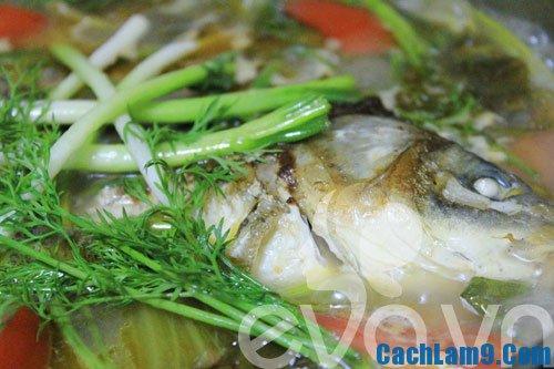 Cách làm cá chép om dưa, nấu món cá chép om dưa như thế nào ngon?