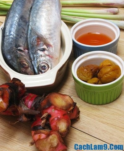 Nguyên liệu làm cá kho mơ ngâm: Mẹo và bí quyết làm cá kho mơ ngon thơm đậm đà