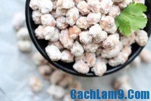 Cách làm đậu phộng bọc đường