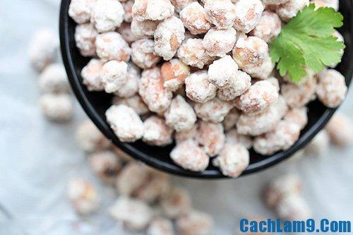 Cách làm đậu phộng bọc đường, làm đậu phộng bọc đường như thế nào?