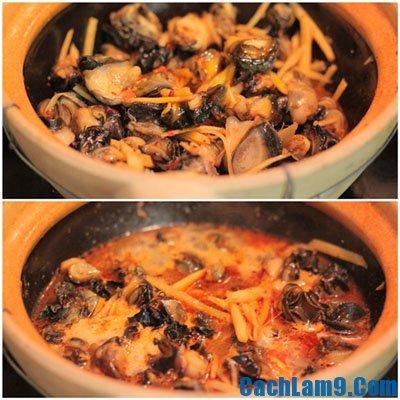 Cách làm ốc bươu kho gừng thơm ngon, nấu ốc bươu kho gừng như thế nào?