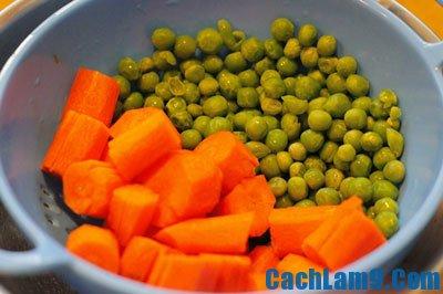 Hướng dẫn làm sườn non nấu đậu Hà Lan, nấu món sườn non với đậu Hà Lan như thế nào?