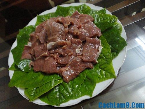 Nguyên liệu làm thịt bò xào lá lốt: Bí quyết làm thịt bò xào lá lốt ngon