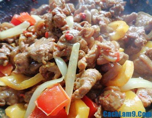 Cách làm thịt dê xào thập cẩm, hướng dẫn và bí quyết nấu món thịt dê xào thập cẩm