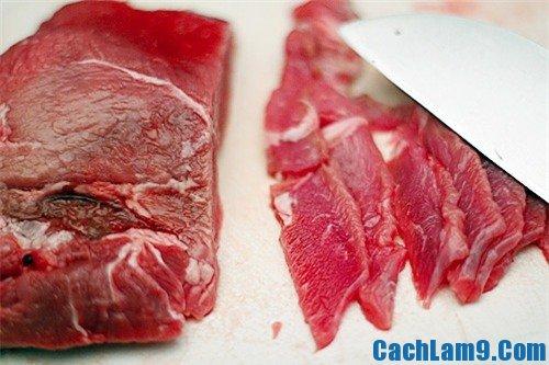 Hướng dẫn làm thịt trâu xào sả ớt ngon: Quy trình làm thịt trâu xào sả ớt thơm ngon đậm vị