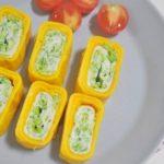 Cách làm trứng cuộn súp lơ