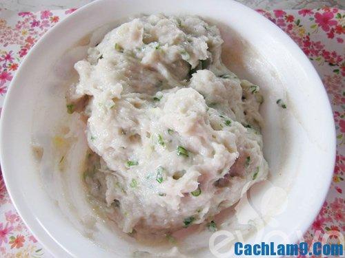 Hướng dẫn làm xíu mại cá đậu Hà Lan. Quy trình các bước làm xíu mại cá với đậu Hà Lan