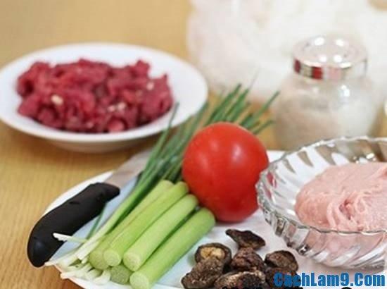 Nguyên liệu chuẩn bị làm bún mọc là gì? Bí quyết nấu bún mọc thơm ngon