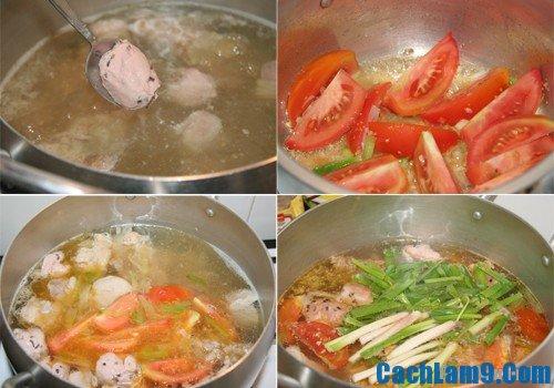 Cách nấu bún mọc ngon, hấp dẫn: Công thức tự nấu bún ngọc thơm ngon vừa vặn