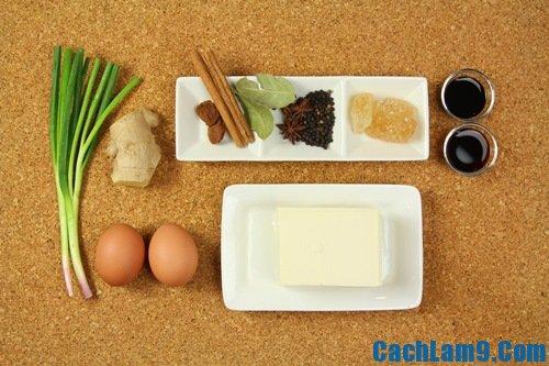 Nguyên liệu, công thức và bí quyết làm đậu phụ kho trứng thơm ngon, hấp dẫn