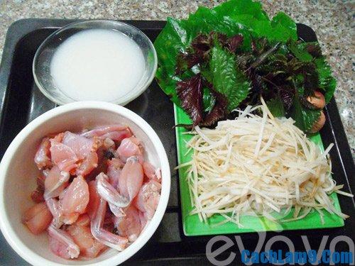 Nguyên liệu, công thức và cách làm ếch xào củ chuối thơm ngon đúng điệu