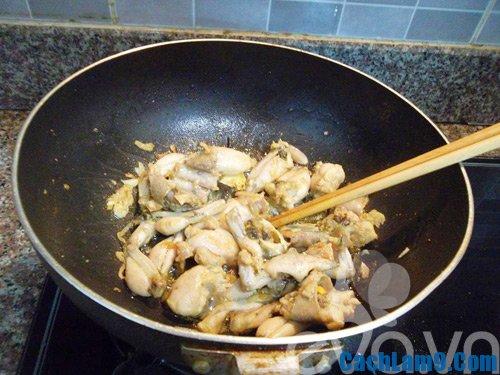Hướng dẫn làm ếch xào củ chuối, quy trình các bước nấu món ếch xào củ chuối