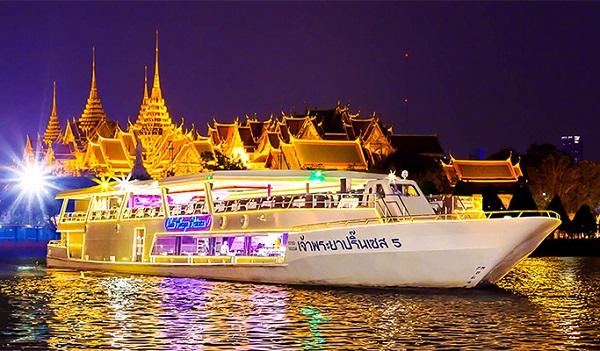15 quán ăn ở Thái Lan ngon, rẻ, đẹp: Ăn tối trên du thuyền Chao Phraya