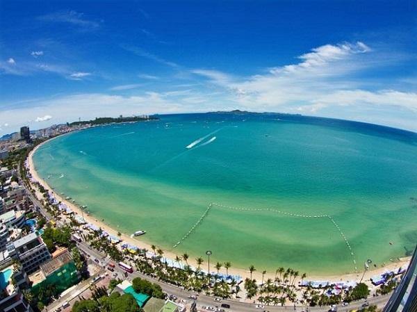 Bãi biển Jomtien - Nổi tiếng nhất ở Pattaya