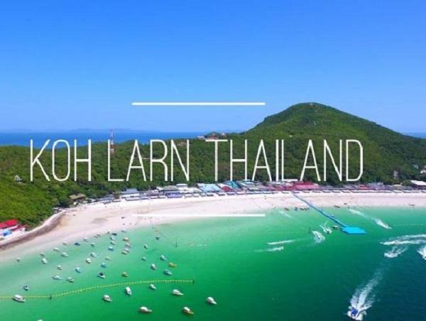 Bãi biển Koh Larn - một trong những bãi biển đẹp, nổi tiếng ở Pattaya