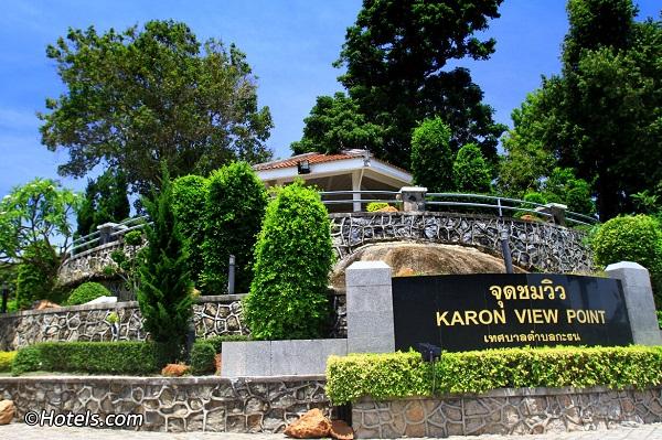 Đảo Phuket có gì hấp dẫn: Đỉnh đồi Karon View Point