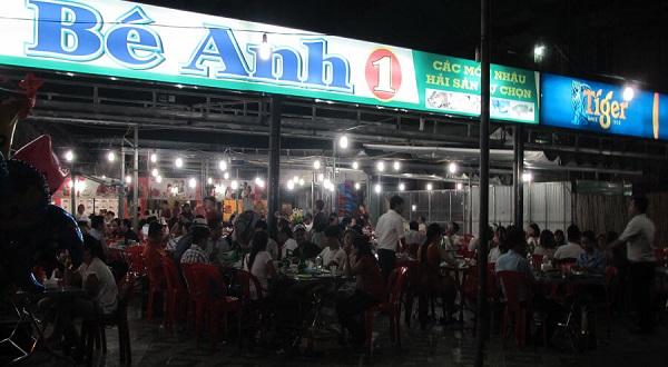 Địa chỉ quán hải sản ở Đà Nẵng ngon, giá rẻ: Quán hải sản Bé Anh 1