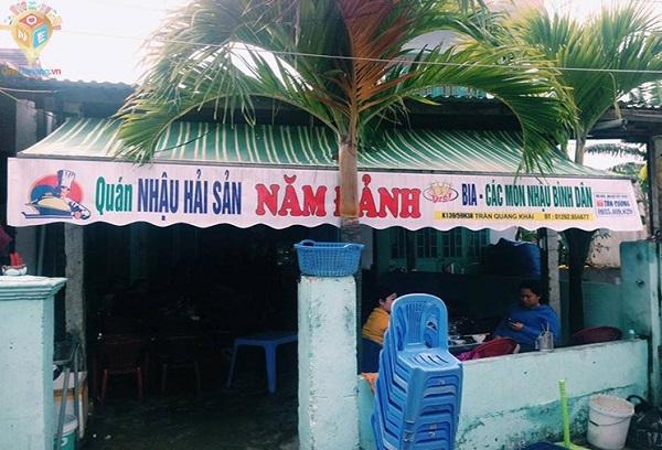 Địa chỉ quán hải sản ở Đà Nẵng ngon, giá rẻ: Quán hải sản Năm Đảnh