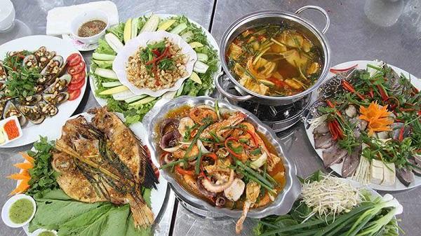 ĐỊa chỉ quán hải sản ở Đà Nẵng ngon, giá rẻ: Hải sản Quán Văn Cổ