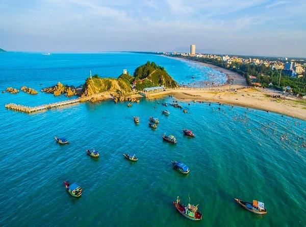 Địa điểm du lịch Cửa Lò. Địa điểm tham quan nổi tiếng ở Cửa Lò. Đảo Lan Châu