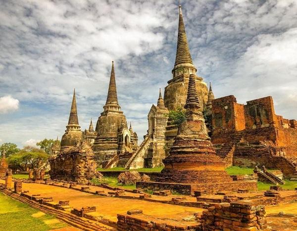 Địa điểm du lịch Thái Lan đẹp, nổi tiếng: Kinh đô cổ Autthaya