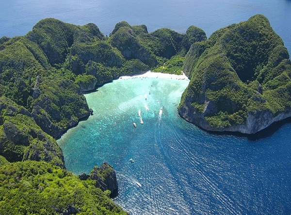 Địa điểm du lịch Thái Lan đẹp, nổi tiếng: Đảo Koh Phi Phi