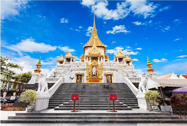 Địa điểm du lịch Thái Lan đẹp, nổi tiếng: Chùa Phật Vàng