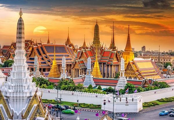 Địa điểm du lịch ở Bangkok Thái Lan. Hoàng cung (Grand Palace)