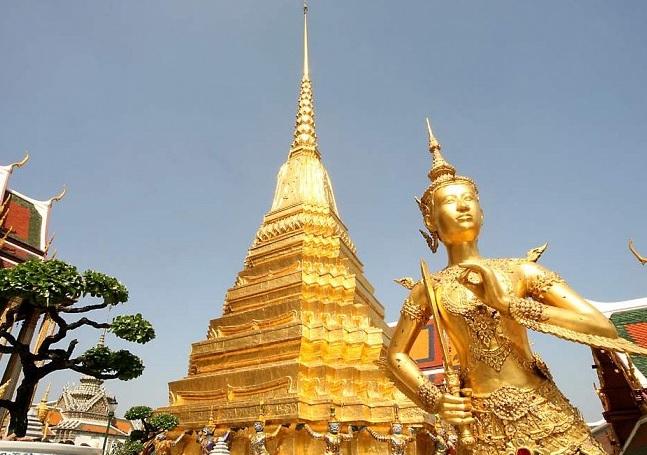 Địa điểm du lịch ở Bangkok Thái Lan. Chùa Phật Ngọc. Địa điểm tham quan nổi tiếng ở Bangkok