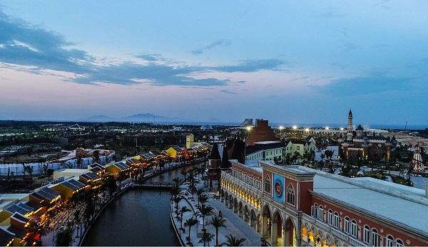 Địa điểm du lịch ở Đà Nẵng đẹp, nổi tiếng: Vinpearl Land Nam Hội An