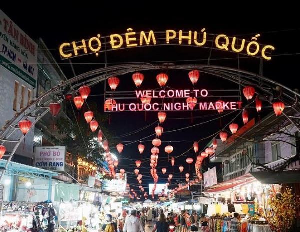 Du lịch Phú Quốc nên mua sắm ở đâu? Chợ đêm Phú Quốc. Chợ đêm Phú Quốc
