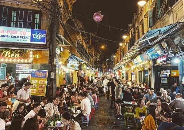 Địa điểm tham quan ở Hà Nội. Địa điểm du lịch ở Hà Nội. Phố cổ Hà Nội