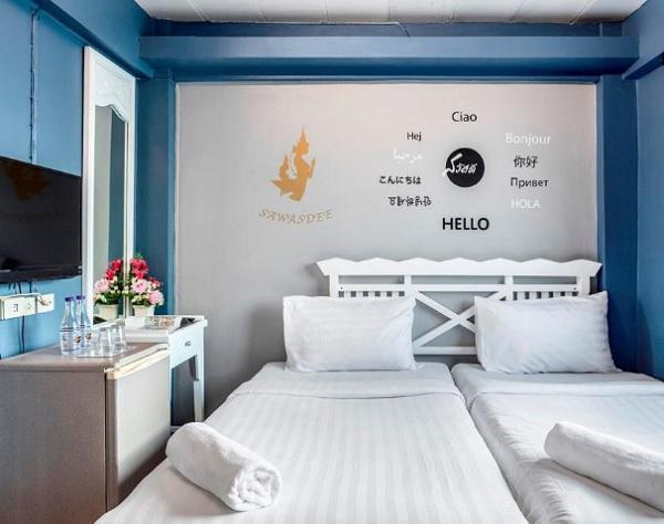 Khách sạn giá rẻ ở Bangkok. Khách sạn Sawasdee Khaosan Inn Hotel. Khách sạn ở Bangkok Thái Lan