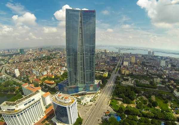 Khách sạn ở Hà Nội. Khách sạn đẹp nhất ở Hà Nội. Tòa nhà Lotte Hà Nội