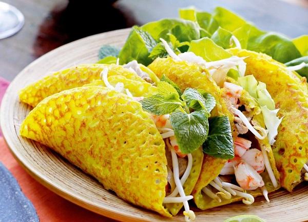 TOP những món ăn ngon ở Đà Nẵng: Món bánh xèo Đà Nẵng