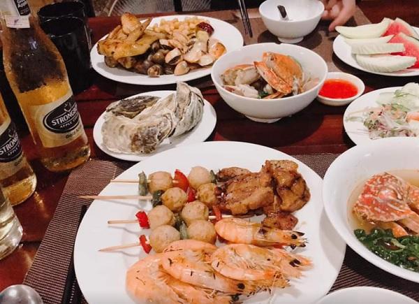 Nhà hàng ở Hạ Long. Nhà hàng Buffet Sen Á Đông