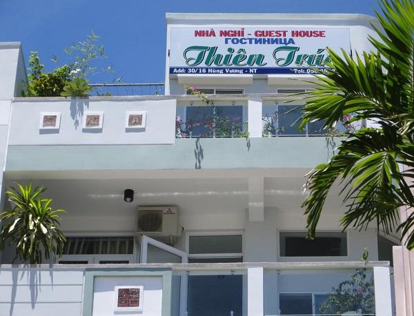 Nhà nghỉ bình dân ở Nha Trang: Nhà nghỉ Thiên Trúc